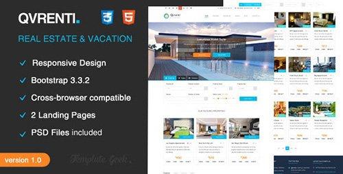 ThemeForest - Qvrenti v1.0 - Responsive Real Estate HTML5 Template
