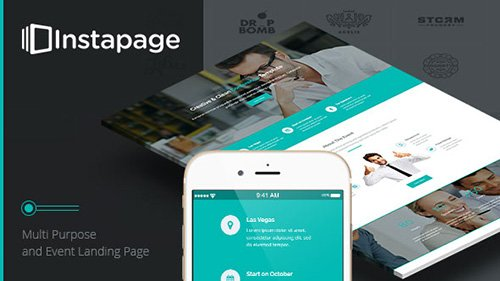 ThemeForest - Conference v1.0 - Instapage Landing Page