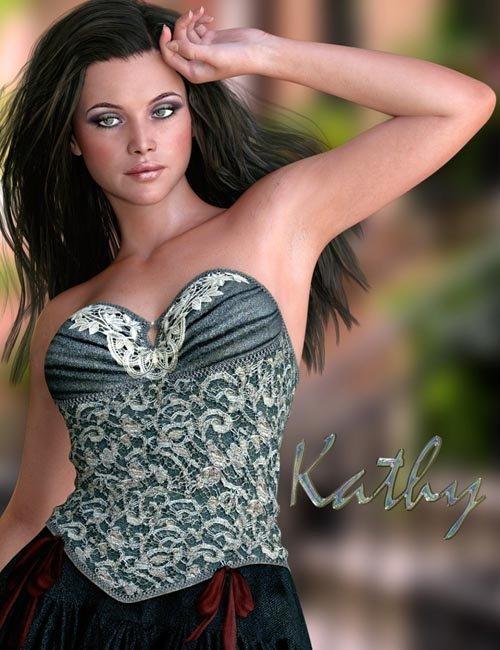 Kathy for Genesis 3 Female(s)
