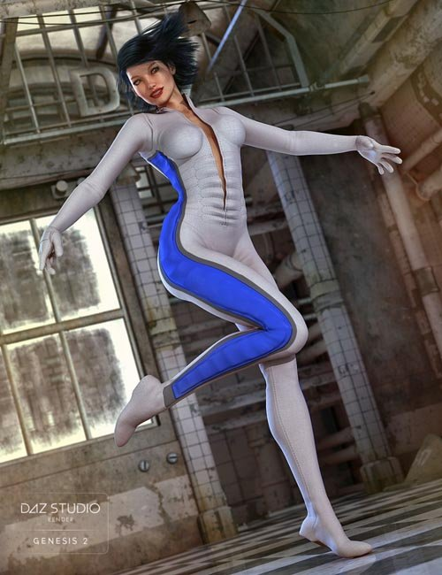 Ultra Bodysuit for Genesis 2 Female(s)