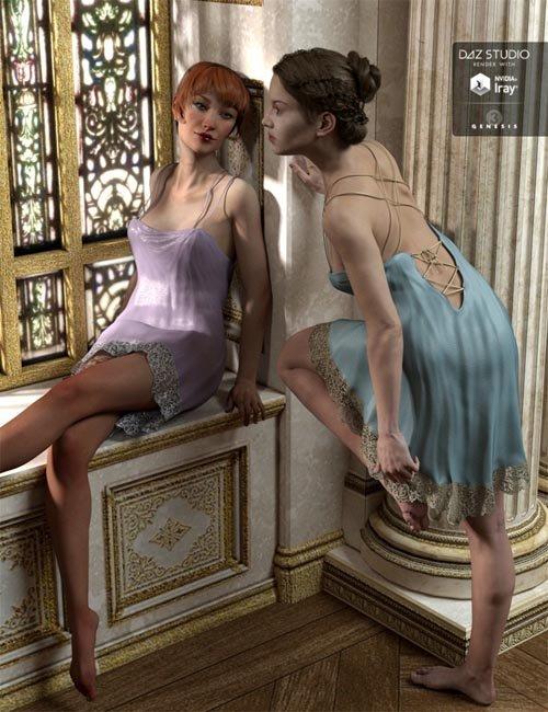 Dancing Slip for Genesis 3 Female(s)
