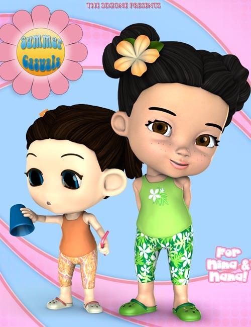 Summer Casuals for Nina & Nana