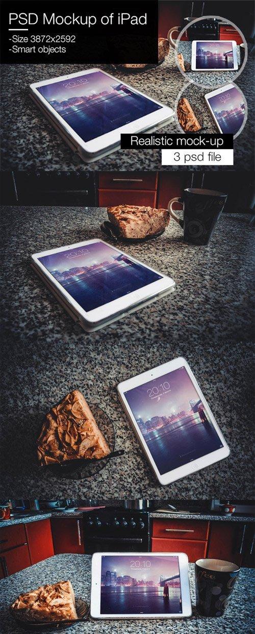 CM - PSD Mockup of iPad 370764