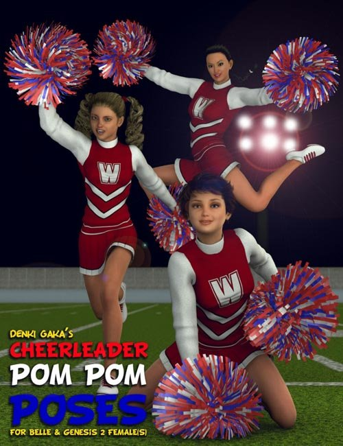 Cheerleader Pom Pom Poses