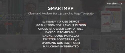 ThemeForest - SmartMvp - Startup Landing Page Template v1.2