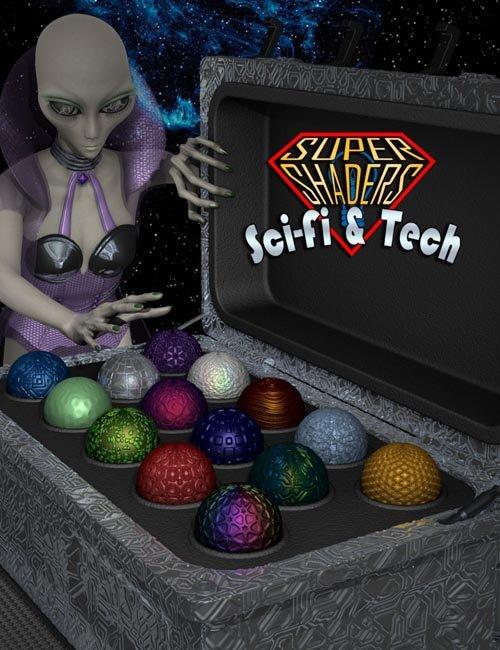 Super Shaders - Sci-Fi & Tech