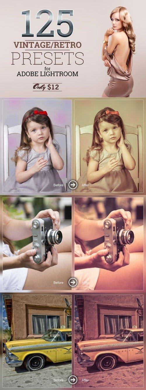 CM - 125 Lightroom Vintage/Retro Presets 371864