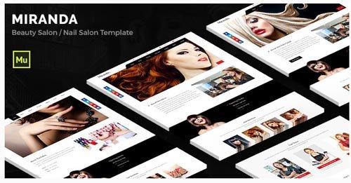 ThemeForest - Miranda v1.0 - Beauty Salon, Nail Salon Template - 12445085