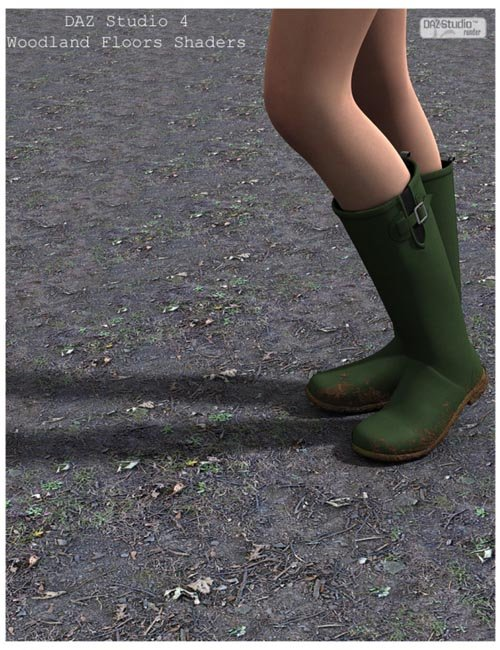 Woodland Floors DAZ Studio Shaders