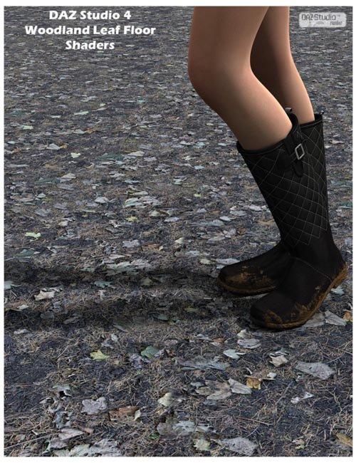 Woodland Leaf Floors DAZ Studio Shaders