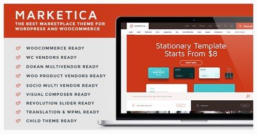 ThemeForest - Marketica v2.6 - Marketplace WordPress Theme - 8988002