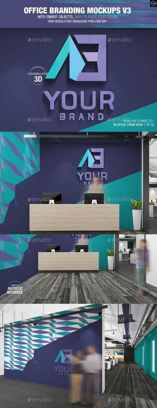 Graphicriver - Office Branding Mockups V3 9162265