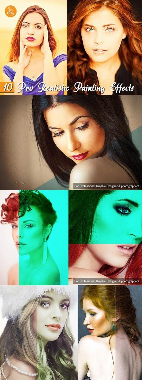 CM - 10 Pro Realistic Painting Effects 397573