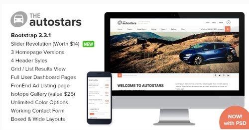 ThemeForest - AutoStars v1.2 - Responsive Car Dealership Template - 10108795