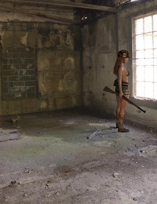 Iray HDRI: Apocalyptic Plant Indoors Set 2