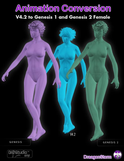 Animation Conversion V4.2 to Genesis and Genesis 2 Female