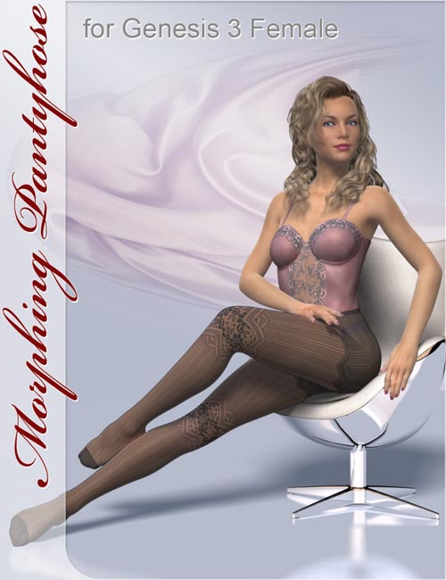 Morphing Pantyhose for Genesis 3 Female(s)