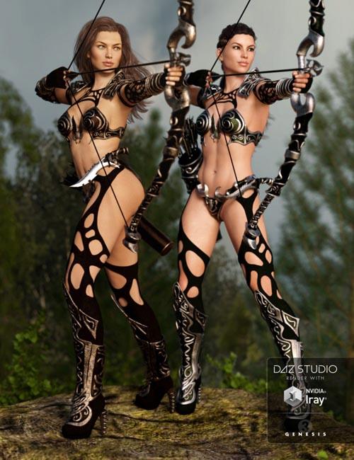 Hunter Queen Textures
