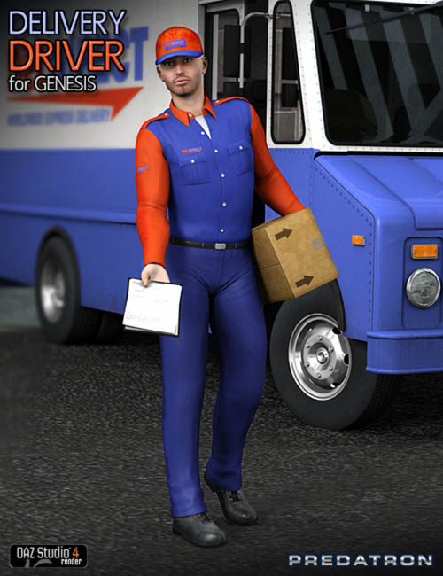 Delivery Driver for Genesis