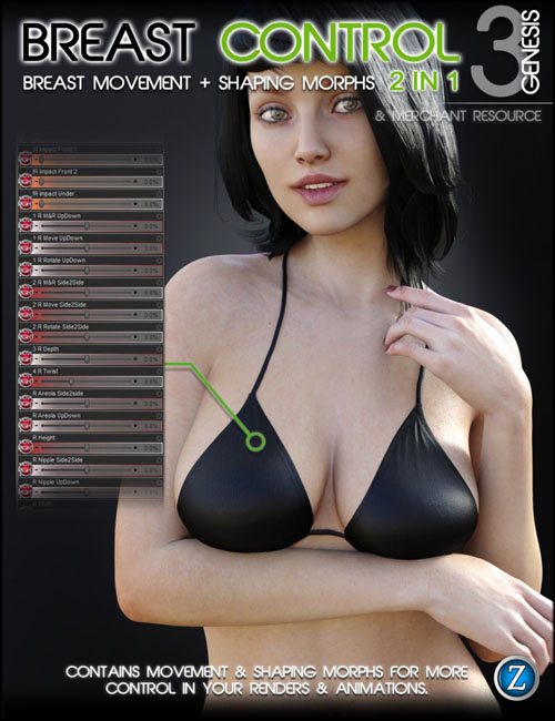 [REQ]  Breast Control for Genesis 3 Female(s)
