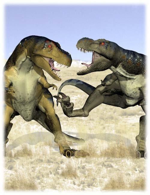 Tyrannosaurus Poses