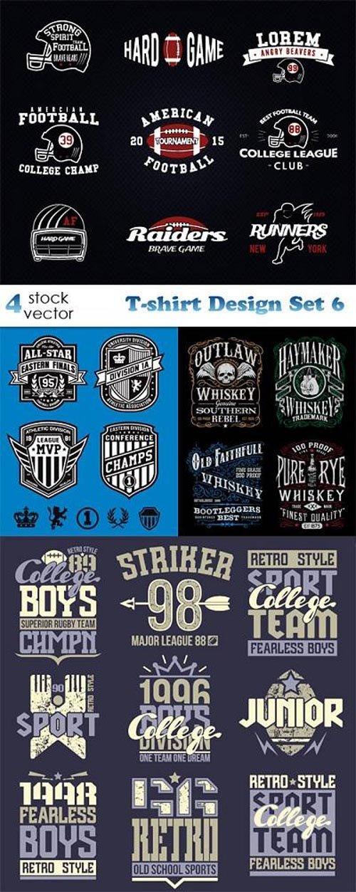 Vectors - T-shirt Design Set 6