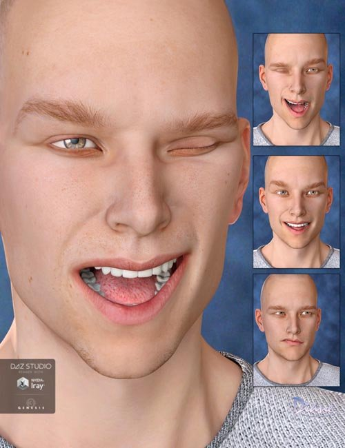 Expression Set for Michael 7 and Genesis 3 Male(s)