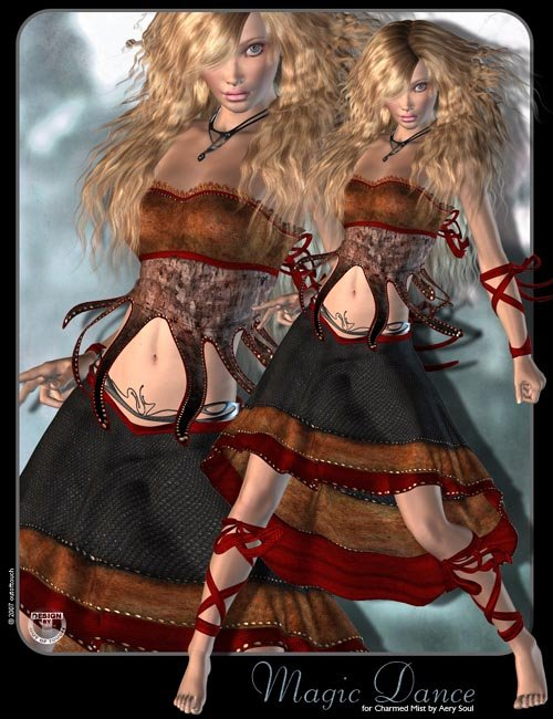 °Magic Dance° Textures for Charmed Mist by Aery Soul