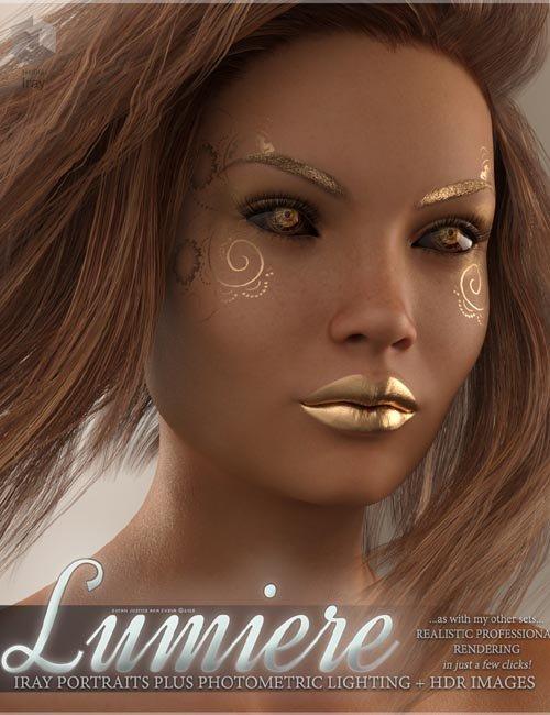 SV's Lumiere Iray Portrait Plus Lights