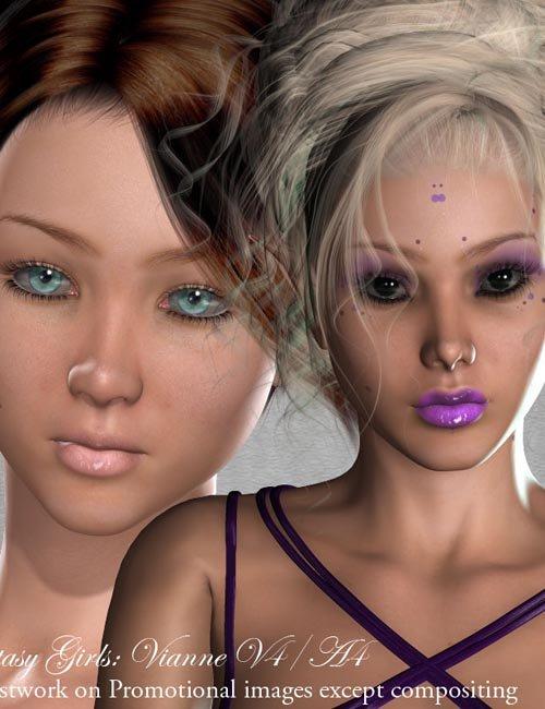Fantasy Girls: Vianne V4/A4