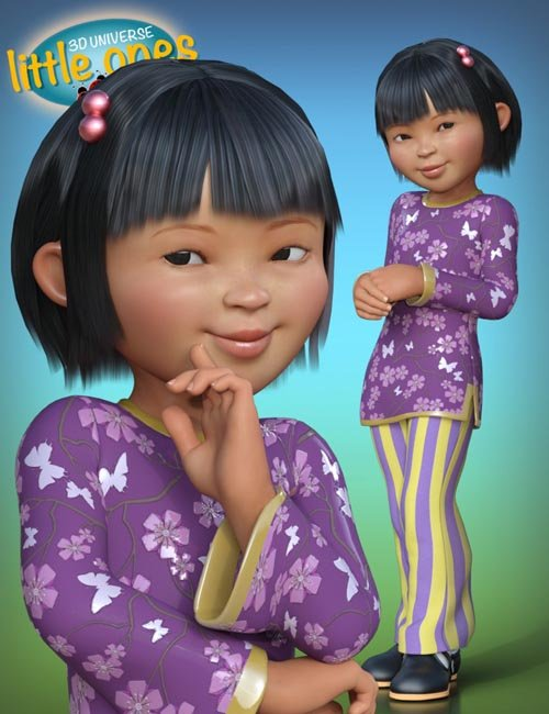 Little Ones (Asian Female) for Genesis 3 Female