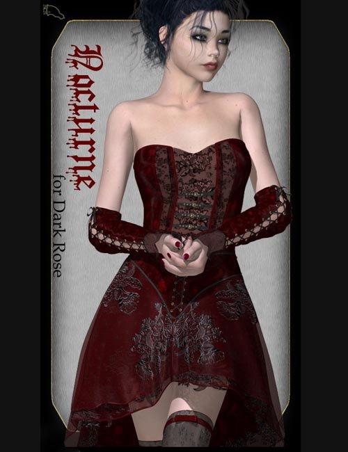 Nocturne for Dark Rose