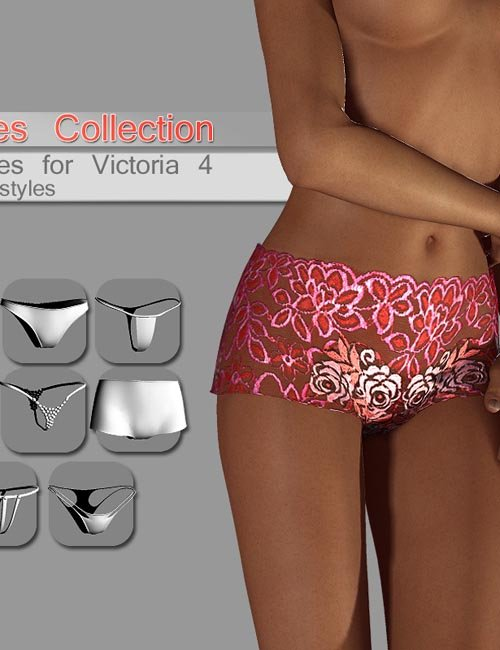 Pantie collection for V4