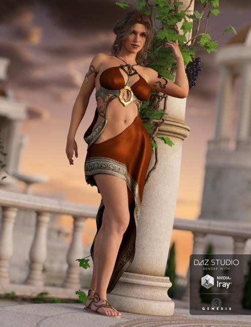 Divinity Outfit for Genesis 3 Female(s)