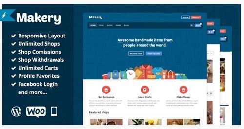 ThemeForest - Makery v1.12 - Marketplace WordPress Theme - 9609178
