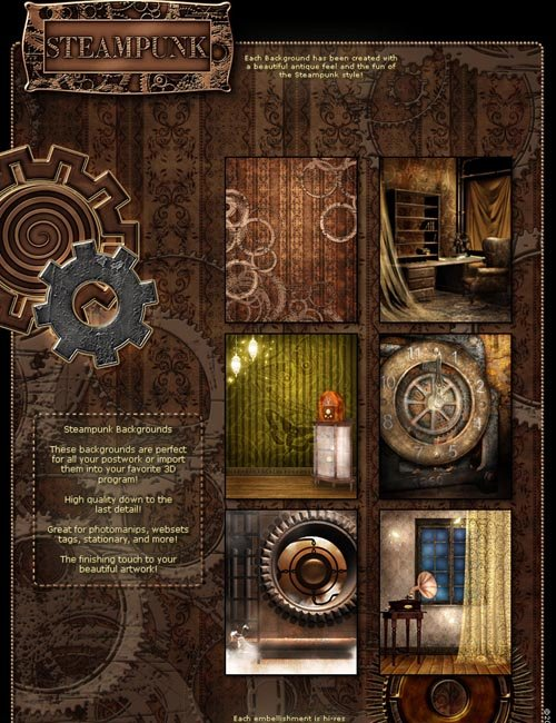 steampunk action wallpapers - photo #30