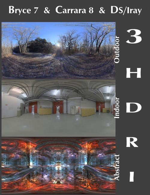 Bryce, Carrara & Daz Studio Iray HDRI