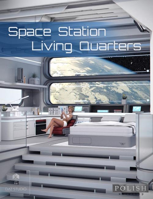 Space Station Living Quarters