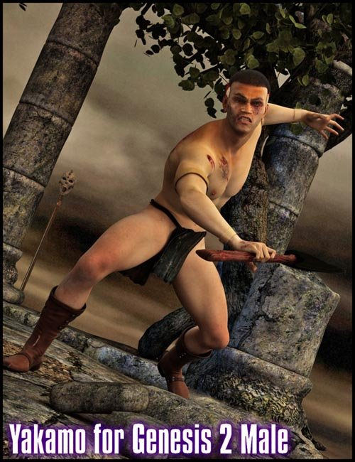 Yakamo the Warrior for Genesis 2 Male