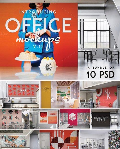 Creativemarket Office Mock-Ups Bundle 478403