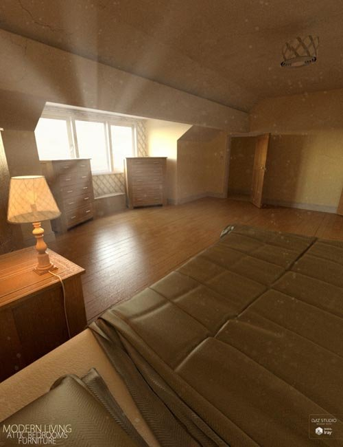 Modern Living Attic Bedroom Furniture