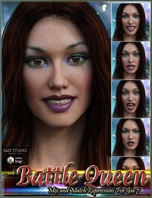Battle Queen Mix and Match Expressions for Gia 7
