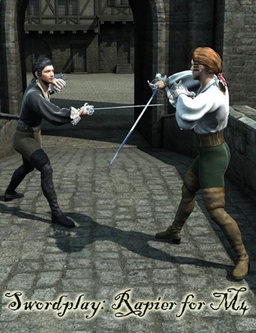 Sword Play - Rapier Poses for M4