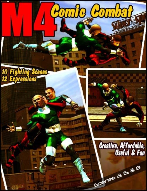 Michael 4 Comic Combat