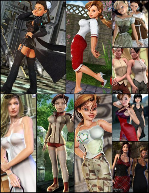 V4 Unimesh Clothing Bundle