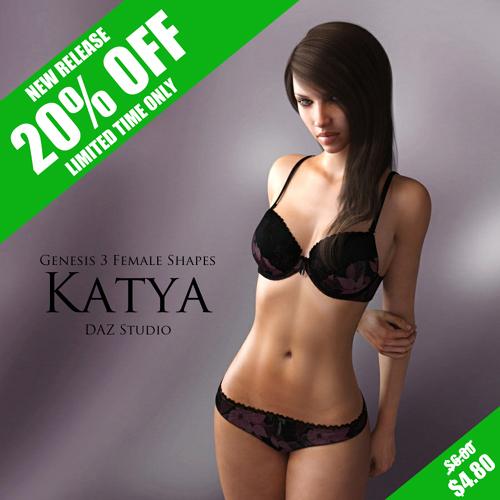 Genesis 3 Female Shapes: Katya