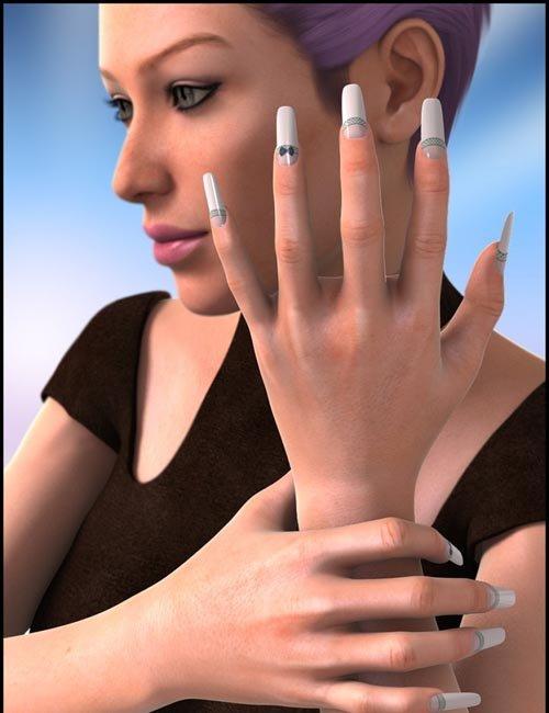 Wicked Fingernails for Genesis 2 Female