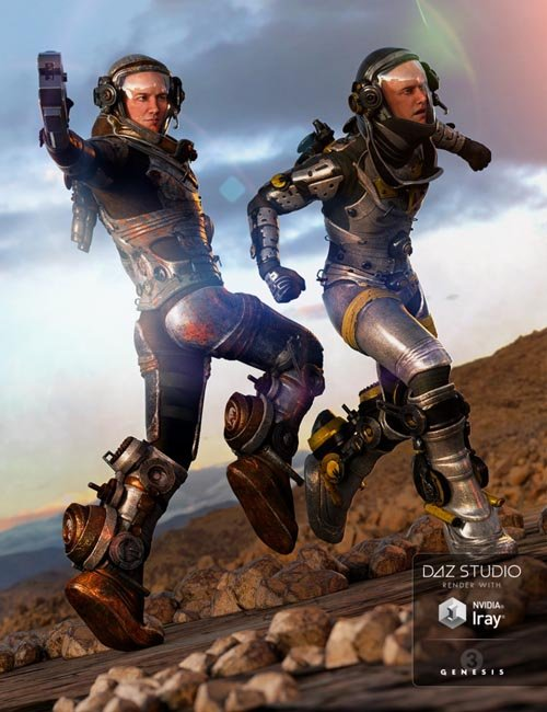 EXO Suit Male Textures