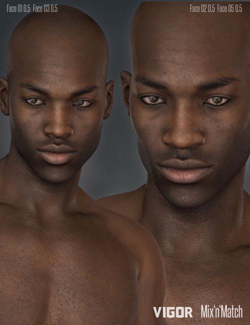 Vigor HD Face Morphs for Darius 6