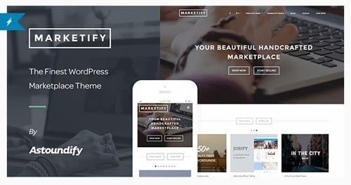 ThemeForest - Marketify v2.5.0 - Digital Marketplace WordPress Theme - 6570786